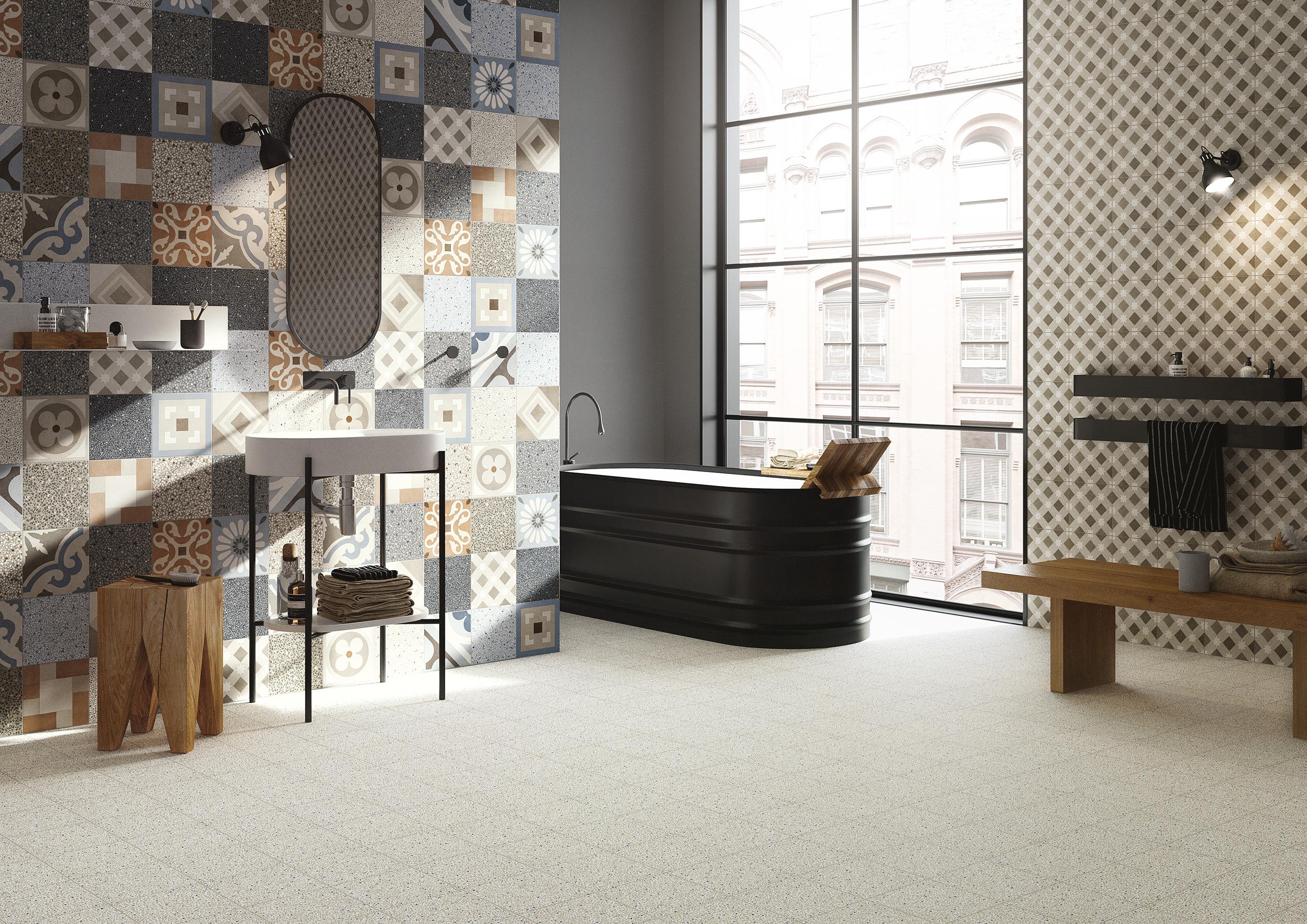 Cementine tiles fioranese