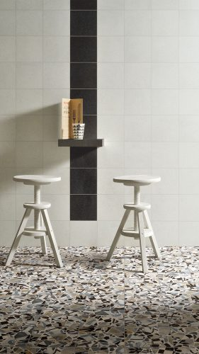 Ceramica-Fioranese_Cementine_Cocci_Cementine-Cocci_Colors-Bianco-Nero-20x20